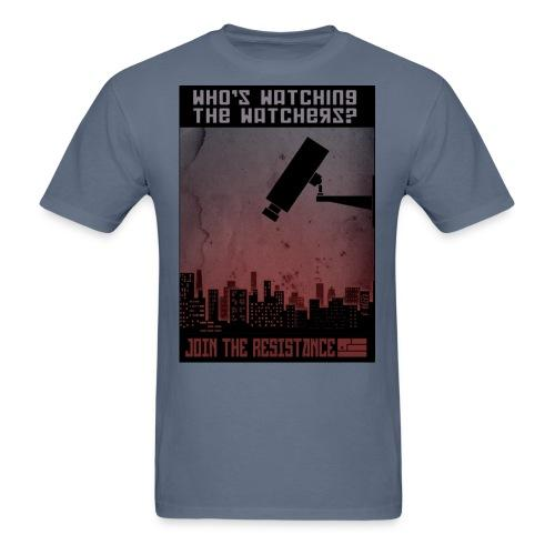 Who's watching the watchers? Join the resistance