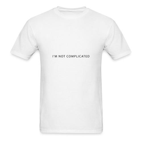 I'm not complicated