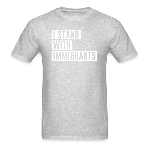 I stand with immigrants