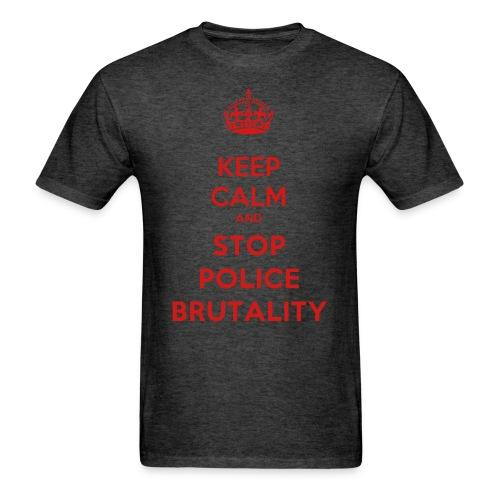 Keep calm and stop police brutality