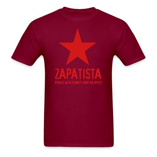 Zapatista. Peace with dignity and respect