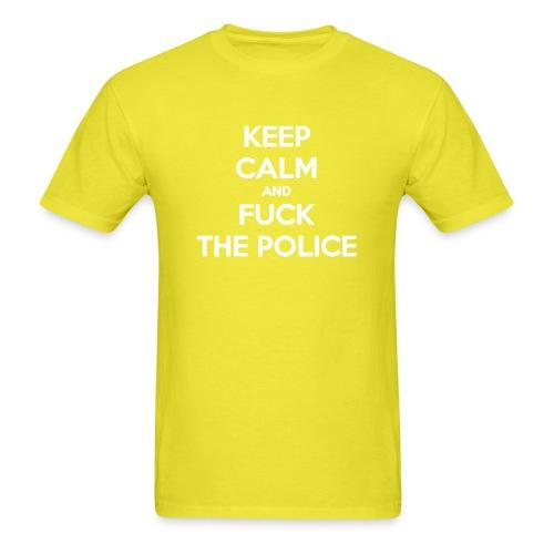 Keep Calm and Fuck The Police
