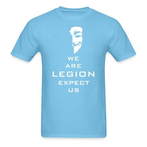 We are legion, expect us