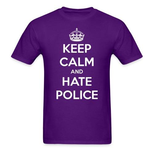 Keep calm and hate police
