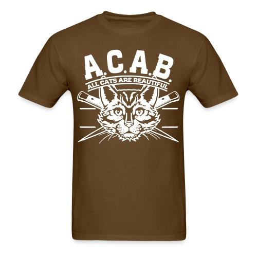 A.C.A.B. All Cats Are Beautiful