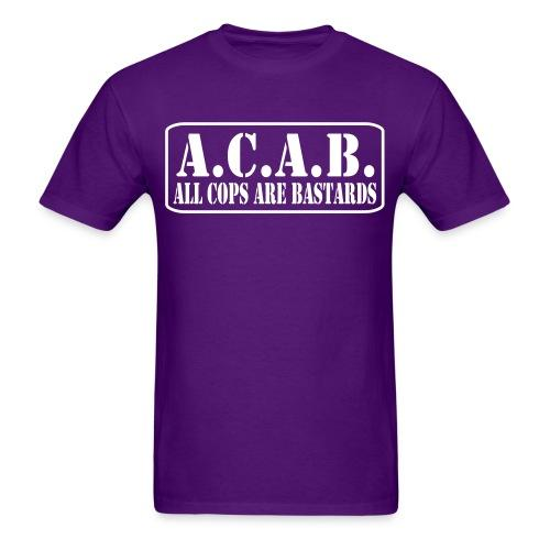 A.C.A.B. All Cops Are Bastards