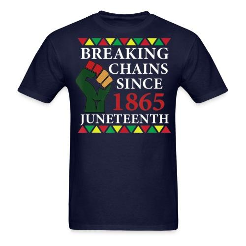 Breaking chains since 1865 (Juneteenth)