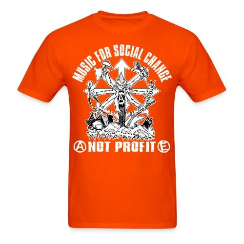 Music for social change not profit