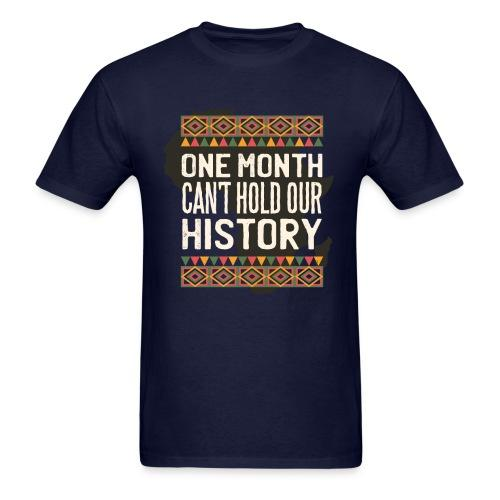 One month can't hold out history