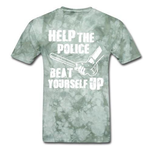 Help the police beat yourself up