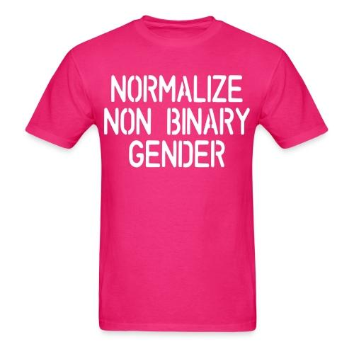 Normalize non binary gender