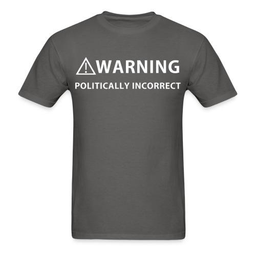 Warning politically incorrect