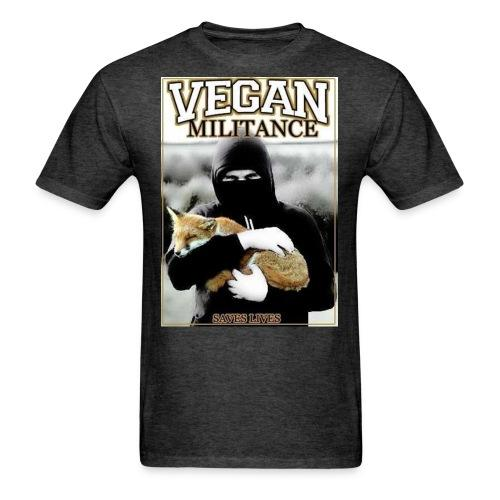 Vegan militance saves lives