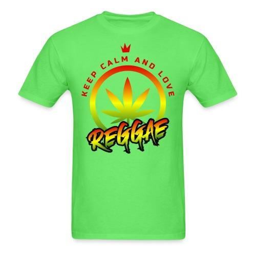 Keep calm and love reggae