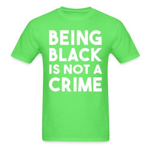 Being black is not a crime