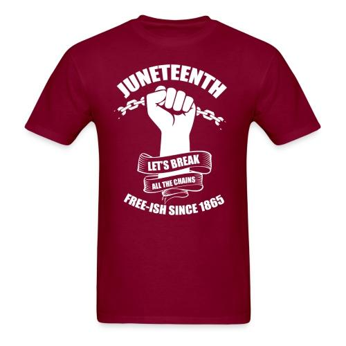 Juneteenth - Let's break all the chains - Free-ish since 1865