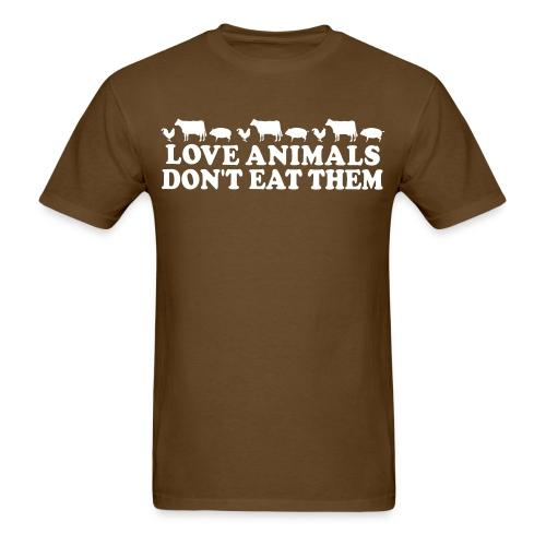 Love animals don't eat them