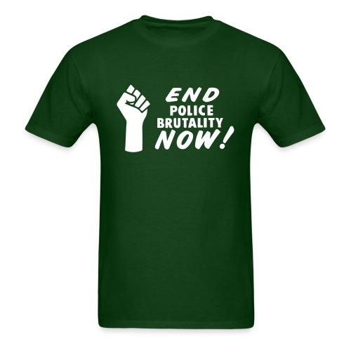 End police brutality now!