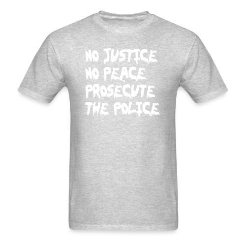 No justice, no peace, prosecute the police