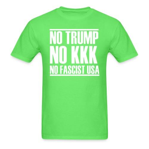 Trump no no kkk no fascist usa