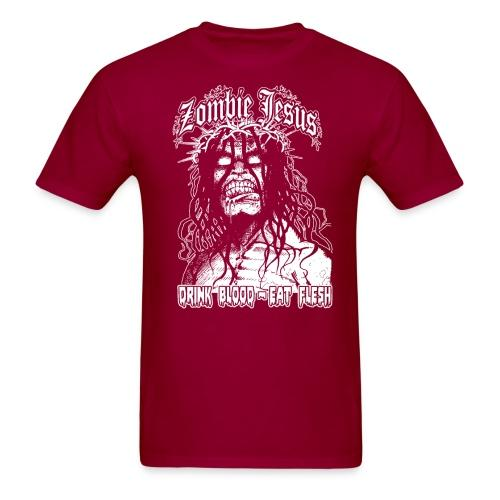 Zombie jesus drink blood eat flesh